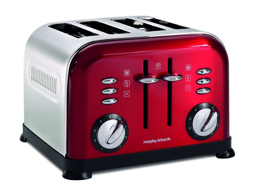 Tostapane rosso di Morphy Richards
